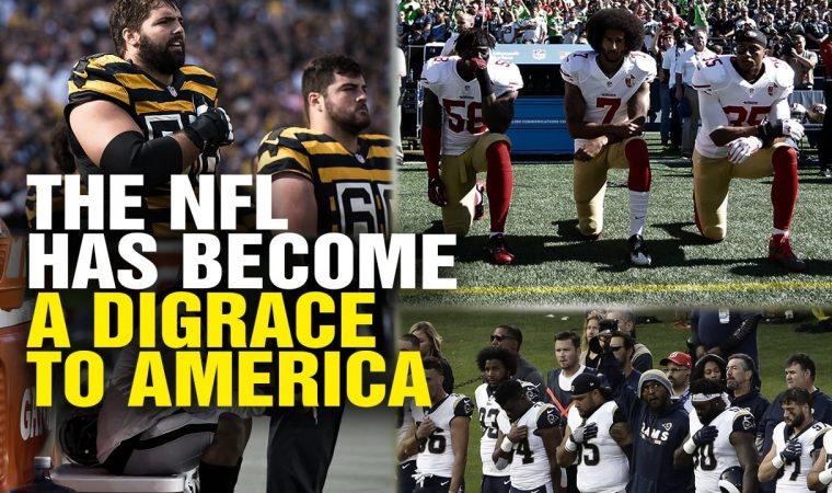 """Mais um capítulo da série """"esquerda histérica"""": politizaram a NFL"""