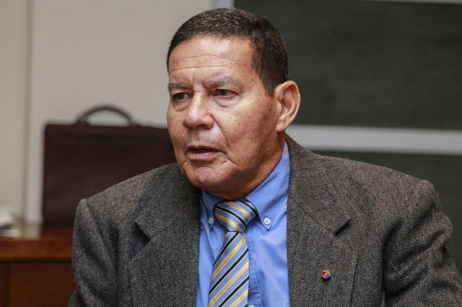 General Hamilton Mourão: