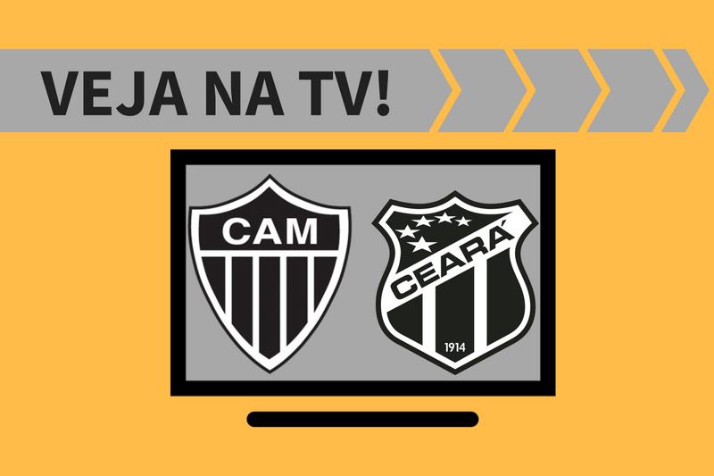 Atlético-MG x Ceará ao vivo: saiba como assistir ao jogo na TV