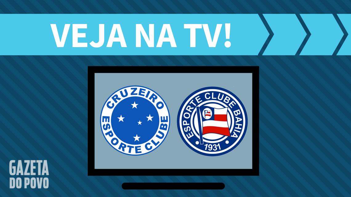 Cruzeiro x Bahia AO VIVO: saiba como assistir ao jogo na TV