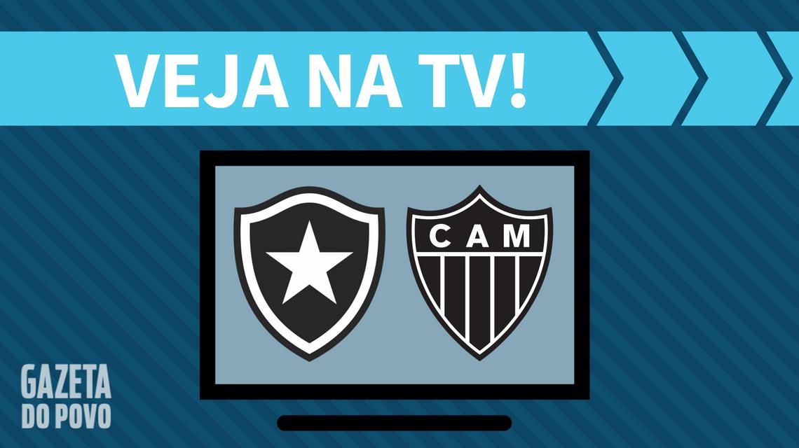Botafogo x Atlético-MG AO VIVO: saiba como assistir ao jogo na TV