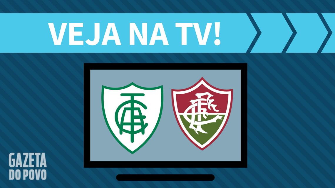 América-MG x Fluminense AO VIVO: saiba como assistir ao jogo na TV