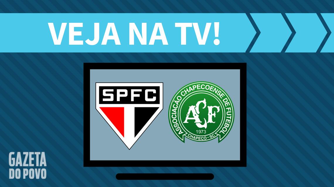 São Paulo x Chapecoense AO VIVO: saiba como assistir ao jogo na TV