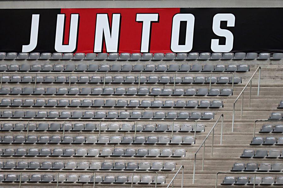 Restrição na Arena une torcidas de Atlético e Flamengo fora de campo
