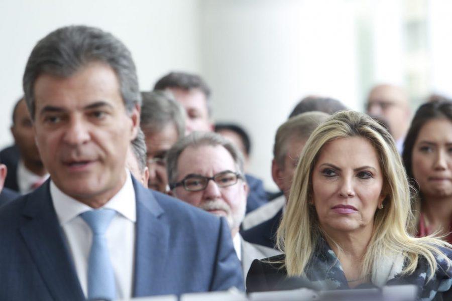 Nos bastidores, ficou clara a preferência do governador e de seus aliados pelo grupo político Borghetti/Barros. (Foto: Marcelo Andrade/Gazeta do Povo)
