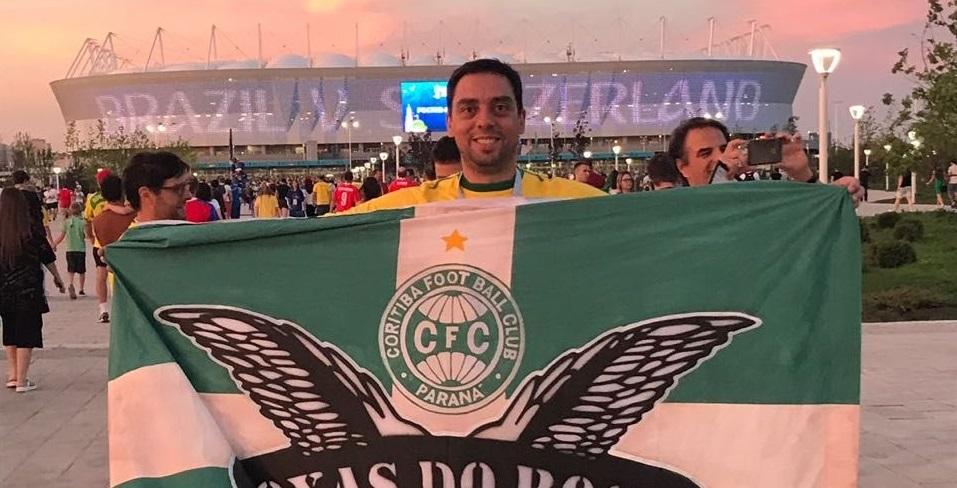 Bandeira do Coritiba é retida em estádio na Copa do Mundo por causa de mensagem