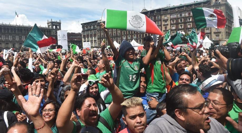 """Gol na Copa do Mundo gera """"terremoto"""" no México"""