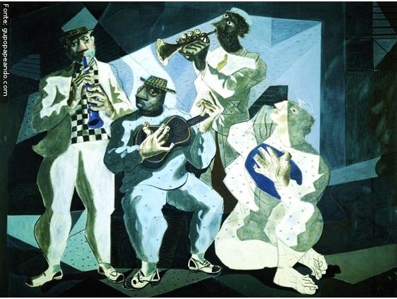 Chorinho. Pintura de Portinari (1946)