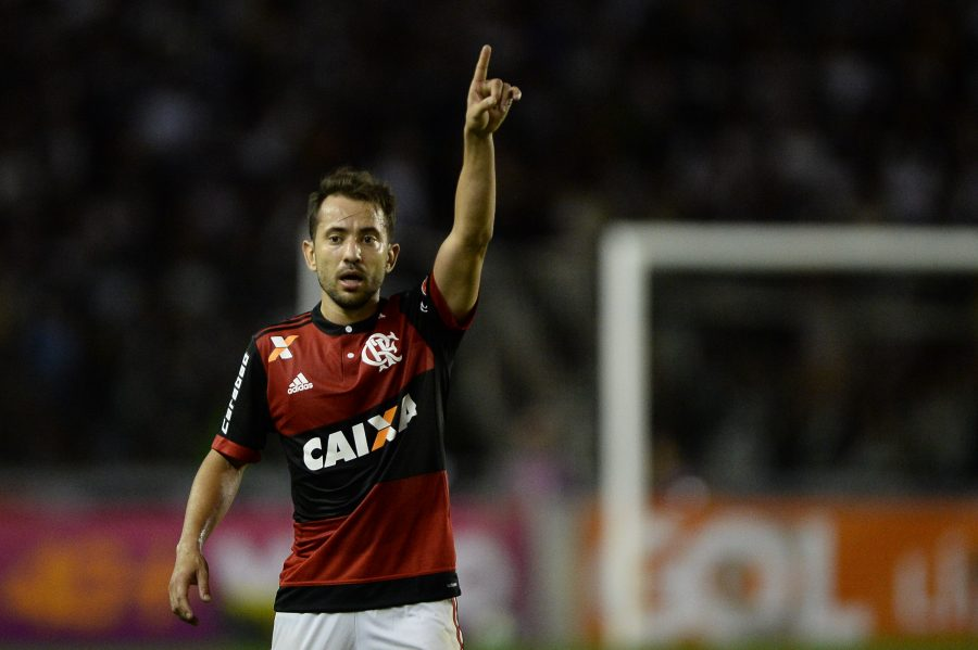Everton Ribeiro, do Flamengo. Foto Mowa Press