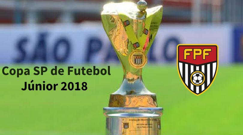 Copa São Paulo de Futebol Júnior 2018 terá 128 clubes.