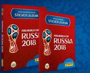 Álbum da Copa 2018 Fifa Panini