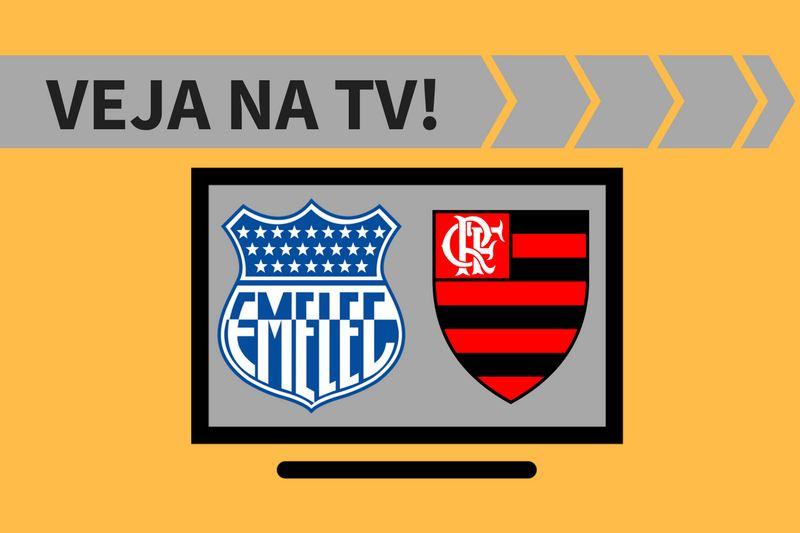 Emelec x Flamengo.