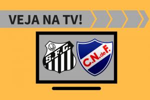 Santos x Nacional onde ver na TV: veja quem passa ao vivo o jogo.