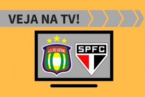 Paulistão: São Caetano x São Paulo - TV: saiba onde assistir ao jogo.