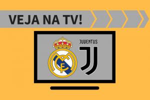 Juventus x Real Madrid AO VIVO: saiba como assistir ao vivo a transmissão do jogo na TV - Liga dos Campeões