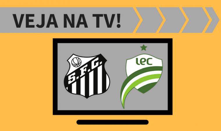 Santos x Luverdense ao vivo: saiba como assistir ao jogo na TV