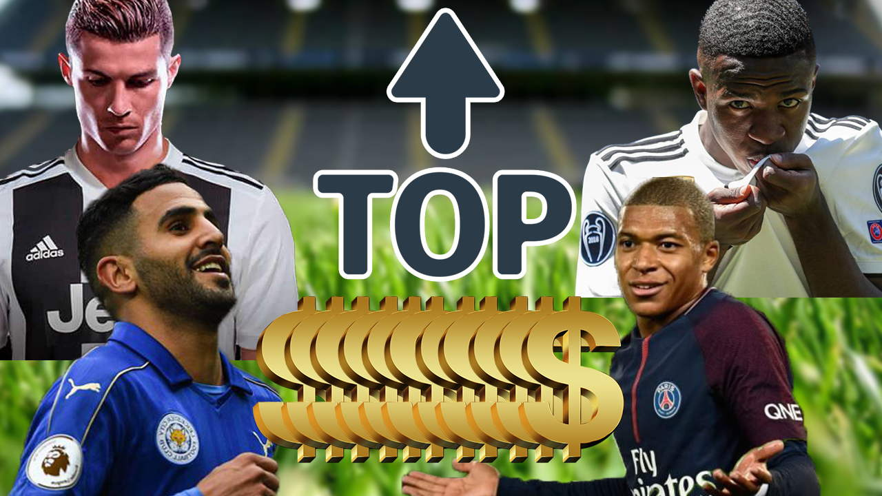 Top 10 do mercado: transferências mais caras do futebol europeu