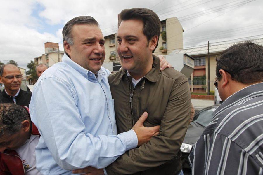 Leprevost e Ratinho. Foto: Antônio More/Gazeta do Povo.