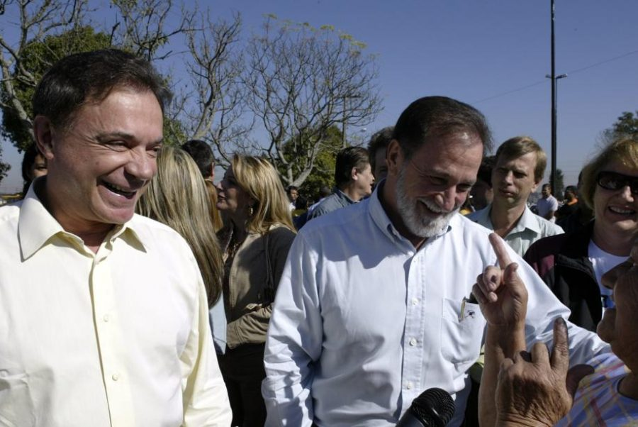 Alvaro e Osmar: finalmente juntos? Foto: Daniel Castellano/Gazeta do Povo.