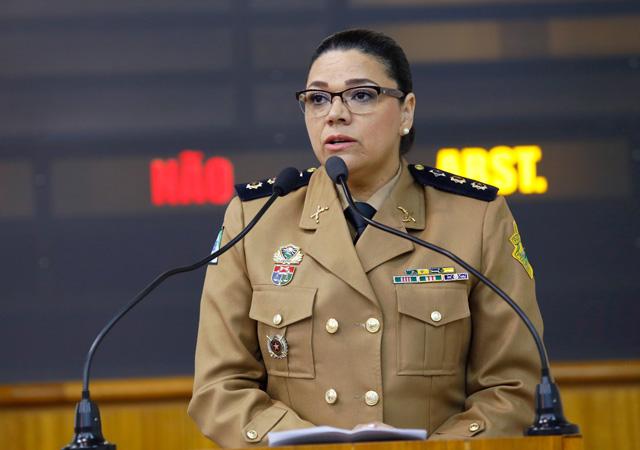 Resultado de imagem para coronel Audilene Rosa de Paula Dia