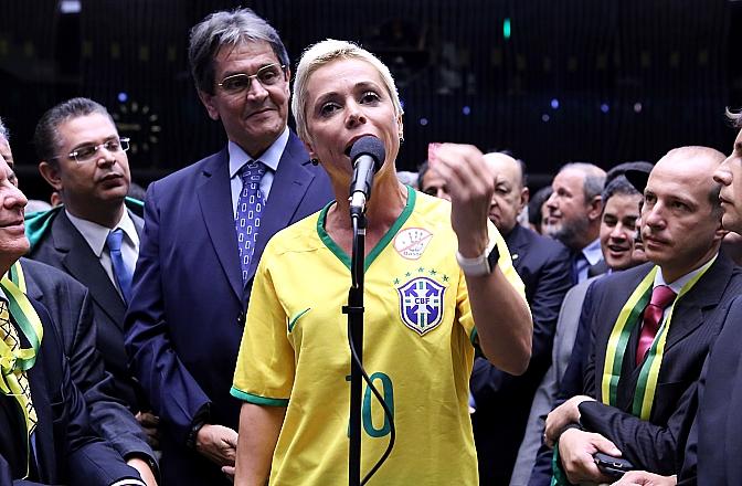 Cristiane Brasil. Foto: Antonio Augusto/Ag. Câmara.