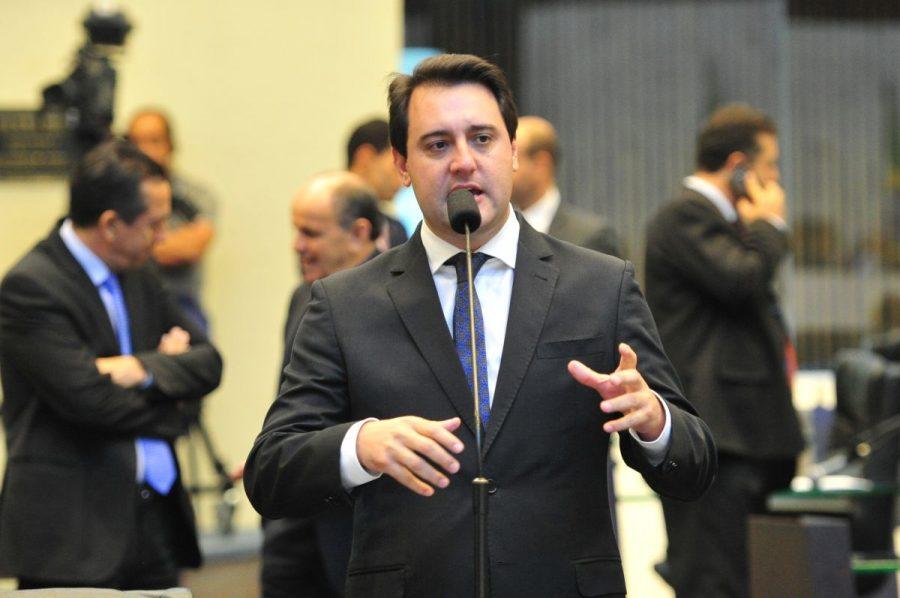 Ratinho Jr. Foto: Pedro de Oliveira/Alep.