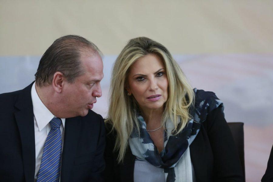 Resultado de imagem para imagem governadora cida borghetti e ricardo barros