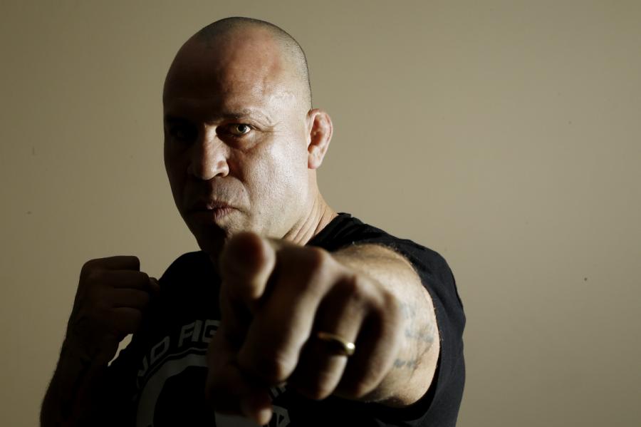 Wanderlei Silva quer lutar com Rampage Jackson e depois se dedicar à política. Foto: Hugo Harada/Gazeta do Povo.