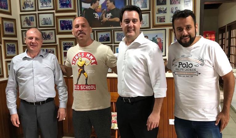 Wanderlei será candidato a deputado federal pelo partido de Ratinho Júnior