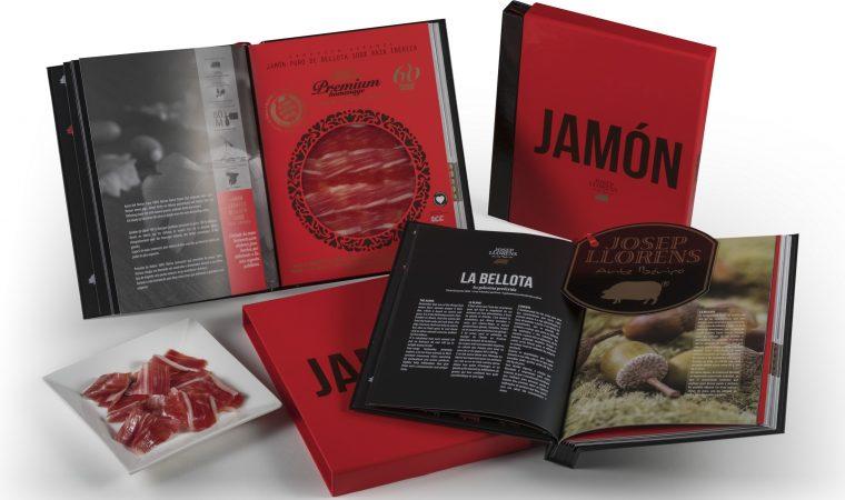 Jamón, um livro para ler e para comer. Sim, também para comer