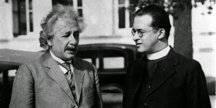 Albert Einstein e Georges Lemaître