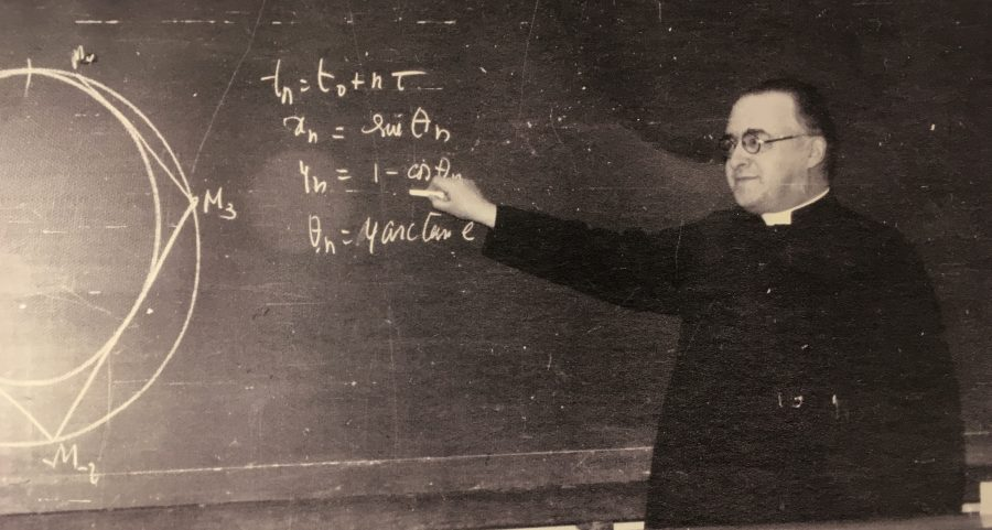 a study on the big bang theory of georges lemaitre Georges lemaître, a career direction and study physics and maths on further support for and development on what we now know as the big bang theory.